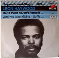 Bild von Leon Haywood - Don't Push It Don't Force It