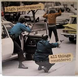 Bild von High Performance - All Things Considered