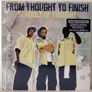 Bild von Schoolz Of Thought - From Thought To Finish