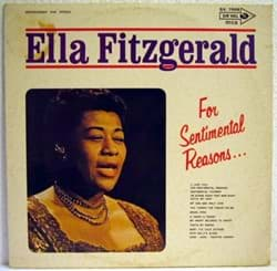 Bild von Ella Fitzgerald - For Sentimental Reasons