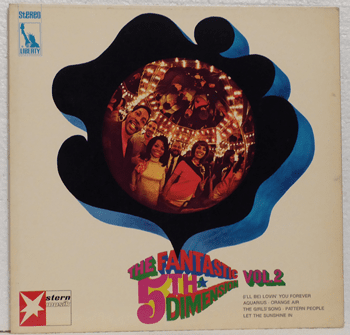 Bild von The Fifth Dimension – The Fantastic Fifth Dimension Vol. 2