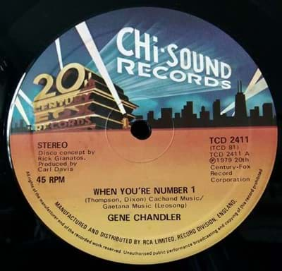Bild von Gene Chandler - When You're Number 1