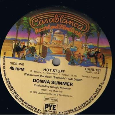 Bild von Donna Summer - Hot Stuff