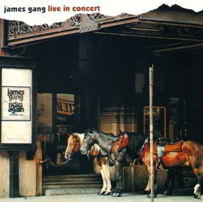 Bild von James Gang ‎– Live In Concert