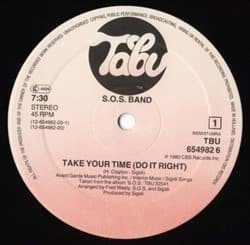 Bild von The S.O.S. Band - Take Your Time