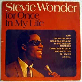 Bild von Stevie Wonder - For Once In My Life